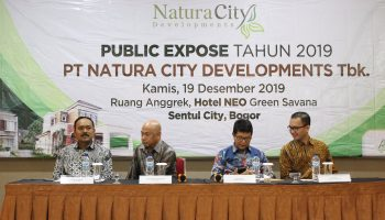Public Expose PT Natura City Developments Tbk. Desember 2019