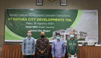 Rapat Umum Pemegang Saham Tahunan PT Natura City Developments Tbk (CITY)