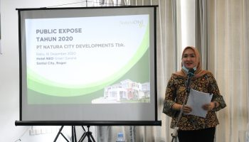 Public Expose PT Natura City Developments Tbk. Desember 2020